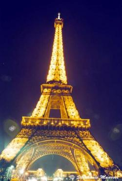 Paris-Tour Eiffel (Nuit)