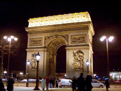 Paris-Arc de Triomphe